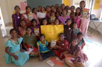 ITC PSPD partners with Voice 4 Girls to distribute diaries in AP schools